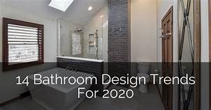 14 Bathroom Design Trends For 2020