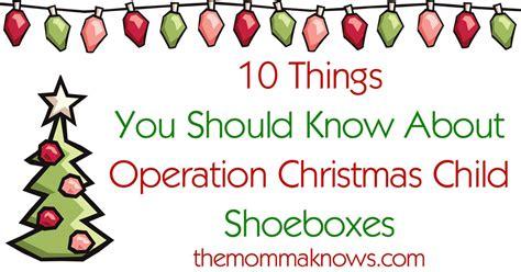 occ shoeboxes