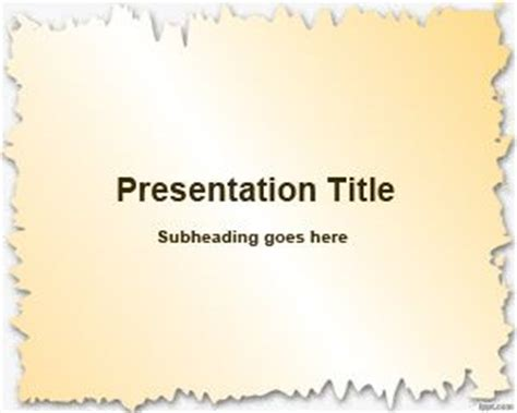 aircraft paper powerpoint template