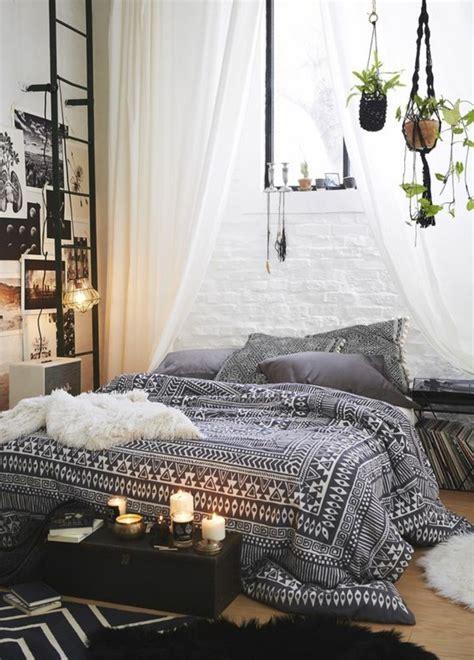 chambre style ethnique 60 idées en photos avec éclairage romantique