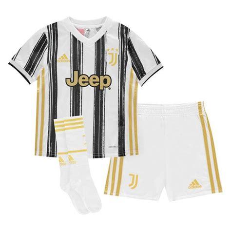 adidas Juventus Home Mini Kit 2020 2021   SportsDirect.com