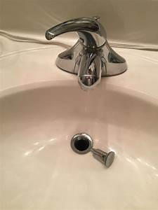 Sink shroom quick fix for broken bathroom sink stopper and for Bathroom sink stopper broken