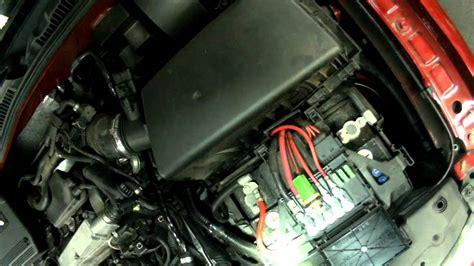 vw   engine coolant temperature sensor replacing