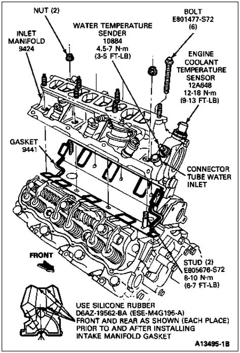 Ford Ranger 4 0 Engine Exploded Diagram by Intake Bolts On Your Ford Ranger 4 0l