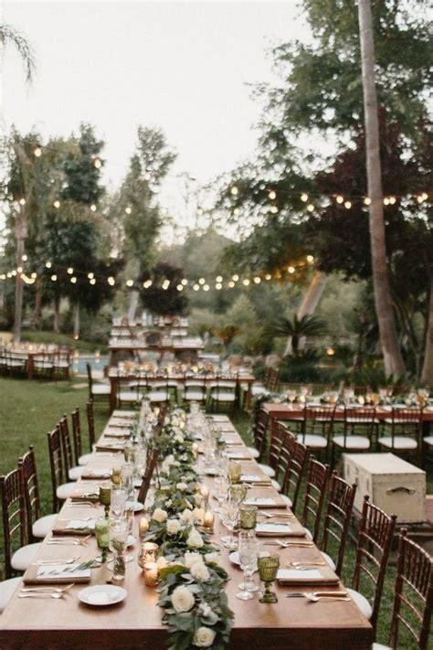 nice backyard wedding decor ideas  summer