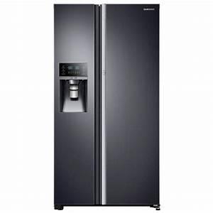 Side By Side Design : samsung 21 5 cu ft side by side refrigerator in black stainless steel counter depth food ~ Bigdaddyawards.com Haus und Dekorationen