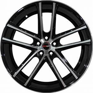 4 GWG Wheels 20 inch STAGGERED Black ZERO Rims fits FORD MUSTANG COBRA 2000-2004 | eBay