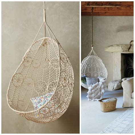 knotted melati hanging chair 361 best images about bohemian bedroom on
