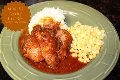 Michelle's Tasty Creations Crock Pot Country Pork Ribs