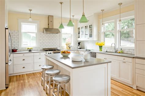 great grey quartz countertop white kitchen combo ideas