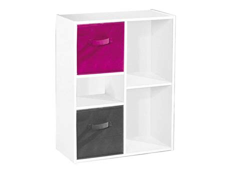 biblioth 232 que modulable 5 cases modulo 5 coloris blanc