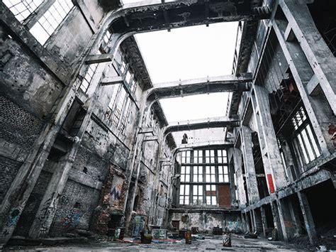 ruin photography reveals  urban decay