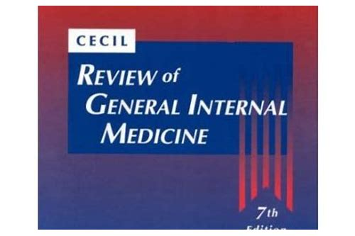 internal medicine cecil download