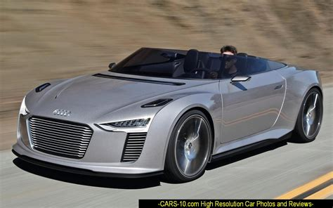 Open Car by 248 Audi E Spyder Concept Is A Study Of An Open Sports