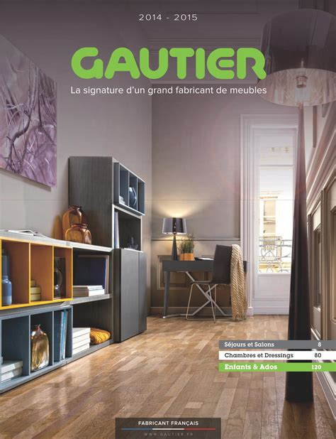 meuble gautier bureau gautier meubles catalogue table de lit