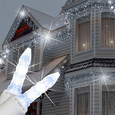 cool white led icicle string lights 130 best led christmas lights images on pinterest led