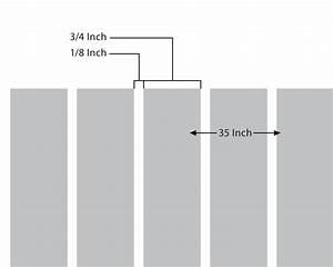 Sample of Vertical Line Pattern on Sandblast - Decorative ...