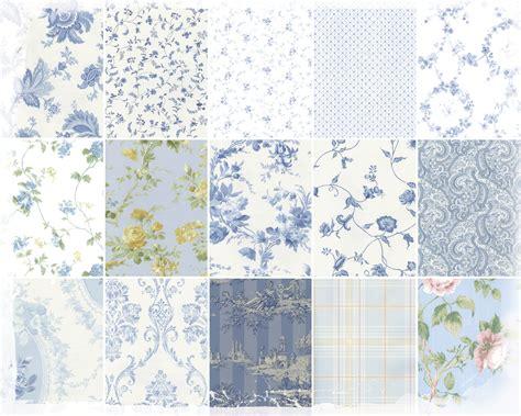waverly blue  white wallpaper wallpapersafari