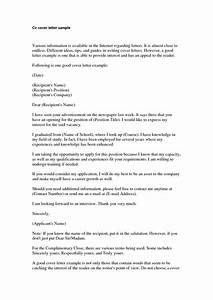 basic cover letter for a resume jantarajcom With cv cover letter template