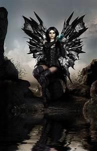 Dark Fairy Fantasy Art   black magic fairy by capergirl42 ...