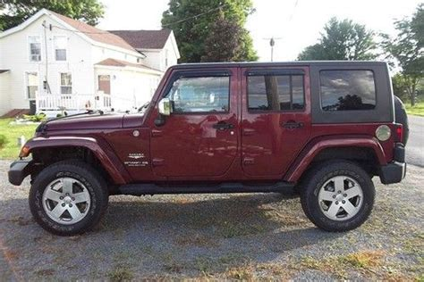 Sell Used No Reserve! 2007 Jeep Wrangler Unlimited Sahara