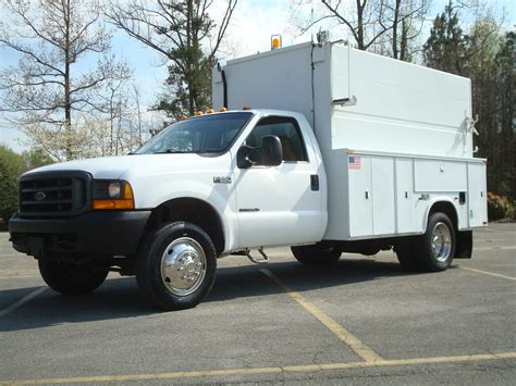 electric truck for sale 2000 ford f 550 super duty utility service truck for sale