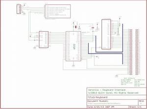 Usb Keyboard Circuit Diagram Datasheet