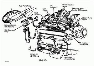 4 3l V6 Vortec Engine Part Diagram