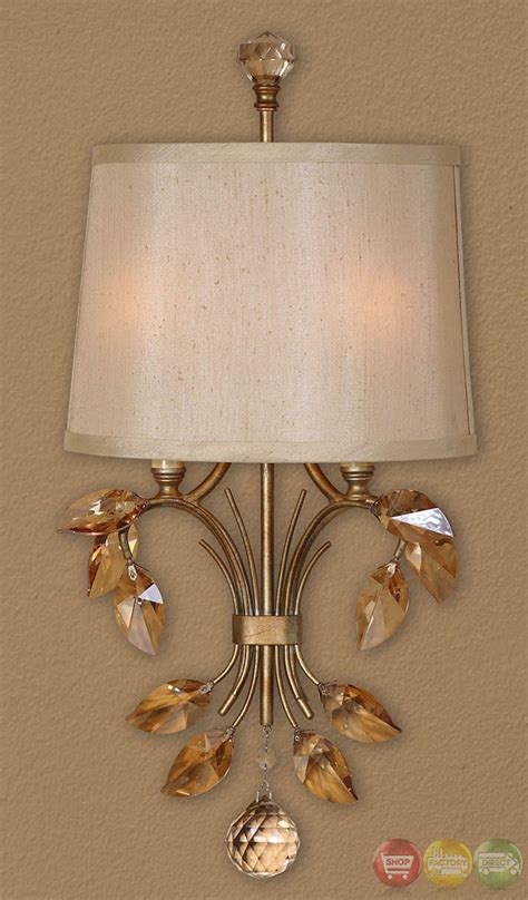 alenya traditional 2 light gold wall sconce 22487