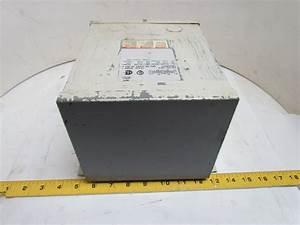 Square D 1 5s1f Single Phase Transformer 1 5 Kva 120  240