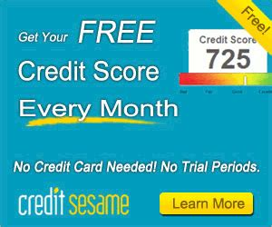 Free trial, no credit card. Free Credit Score (No Trial, No Credit Card Needed) - June 2018