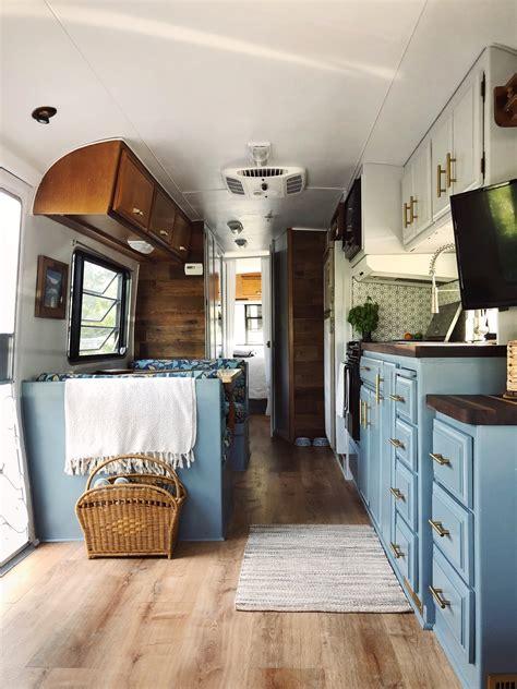 fleetwood trailer   cozy colorful diy