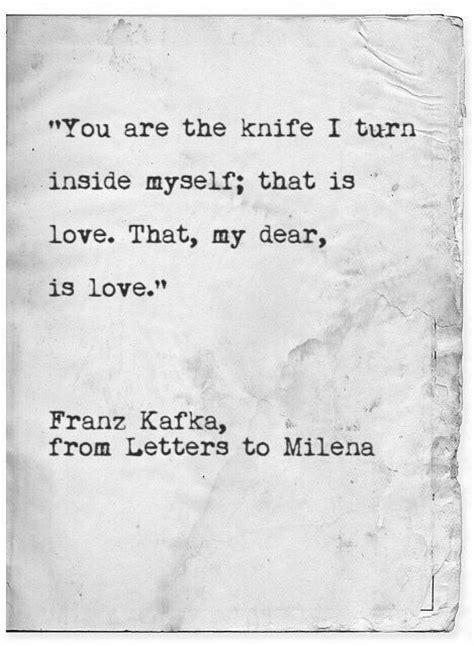 knife  turn   franz kafka