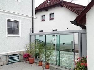 Terrassenüberdachung Zum öffnen : windschutz glaselemente zum ffnen windschutz glasschiebet ren und montiert ~ Sanjose-hotels-ca.com Haus und Dekorationen