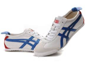 womens shoes asics onitsuka tiger white blue nippon made shoes men