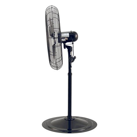 industrial grade pedestal fans 30 air king 30 quot 1 3 hp industrial grade adjustable height