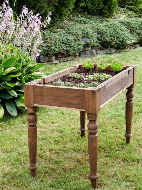 raised garden table make a diy raised bed diy network made remade diy