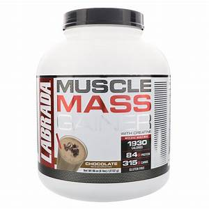 Labrada  Muscle Mass Gainer Chocolate  6 Lb  U2013 Results Vitamin Shop