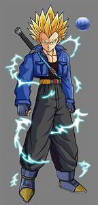 Future trunks and vegeta dbgt fusion by el-lobo-gris on ...