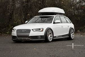 Audi Allroad Lowered On An Air Ride Suspension  So Sick