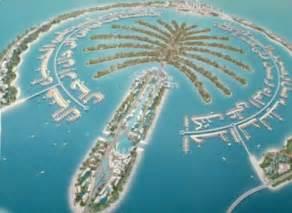Shaped Like a Palm Tree Island Dubai
