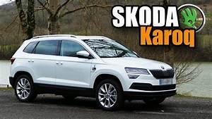 Skoda Kodiaq 7 Places Occasion : essai skoda karoq 2018 skoda c 39 est le top youtube ~ Medecine-chirurgie-esthetiques.com Avis de Voitures