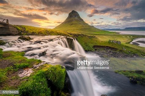 Mount Kirkjufell Iceland Stock Photo Getty Images