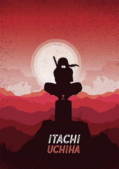 Itachi Uchiha The True Hokage Digital Art By Louza Artist