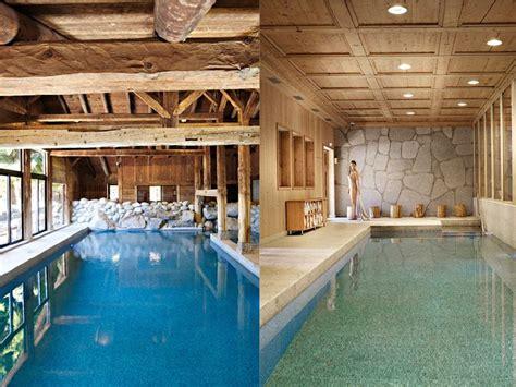 les fermes de megève piscine intérieure