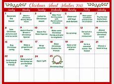 Blank Activity Calendar 2016 Calendar Template 2018