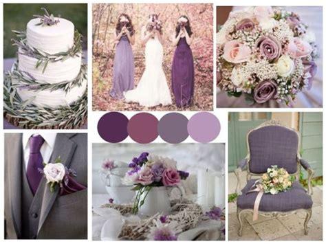purple plum lavender wedding images