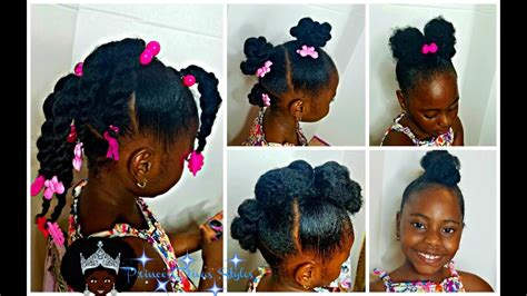 Little Girls Easy Back To School Hairstyles 4 Styles 1