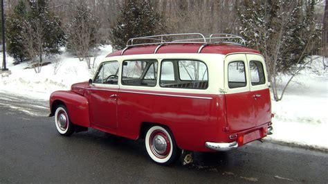 1958 Volvo PV445 PH Duett Station Wagon Classic Old Retro ...