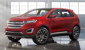 Ford Edge Concept gets self-parking tech - SlashGear